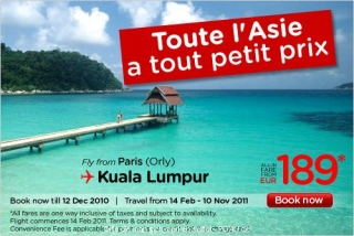 Air Asia - Angebot 2010 / 4 Quartal