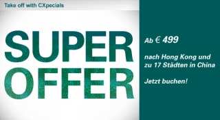 Cathay Pacific - Angebot Sep 2011